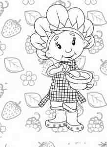 花仙子涂色图片 简笔画图片 少儿图库 中国儿童 高清图片